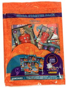 2 x RONALDO  XXL Limited Mega Starter Pack  - ROAD TO WORLD CUP 2018