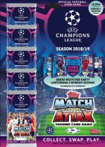 MULTIPACK 5 + 1 Limited - CHAMPIONS LEAGUE 2018 - 2019