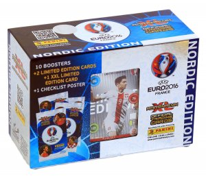EURO 2016 -  GIFT BOX 60 karty  + 2 Limited