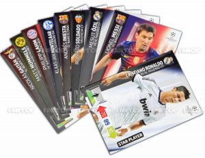 full set 25 x STAR PLAYER -  Champions League 2012-2013
