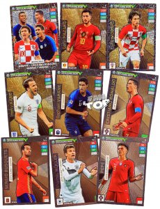 9 x RARE komplet TOP MASTER & EXPERT -  ROAD to EURO 2020