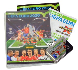 ALBUM + PUSZKA 5 + 1 Limited - ROAD to EURO 2020