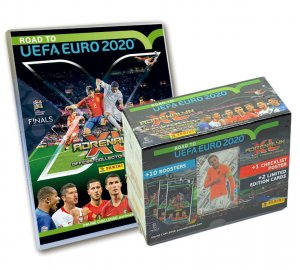 ALBUM + GIFT BOX 10 + 2 Limited -  ROAD to EURO 2020