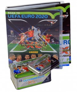 2 x Puszka + ALBUM 15 saszetki 5 limited - ROAD to EURO 2020