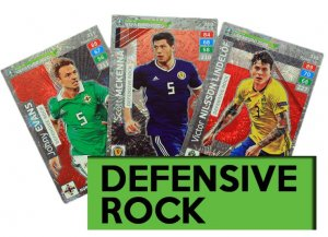 DEFENSIVE ROCK  -  ROAD to EURO 2020