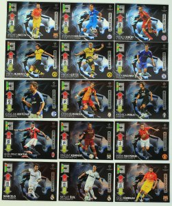 15 x LIMITED EDITION cards set  - 2012-2013 CHAMPIONS LEAGUE