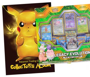 ALBUM + BOX Legacy Evolution POKEMON