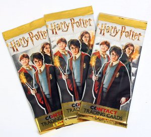 HARRY POTTER saszetki karty panini Contact 2019