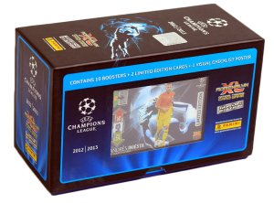 GIFT BOX 60 kart + 2 limited CHAMPIONS LEAGUE 2012-2013