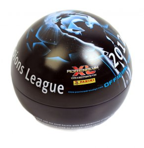 Puszka KULA  60 karty + 2 limited CHAMPIONS LEAGUE 2012-2013