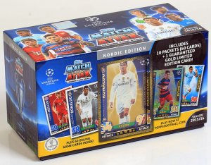 GIFT BOX 140 karty 4 limited  CHAMPIONS LEAGUE 2015-2016