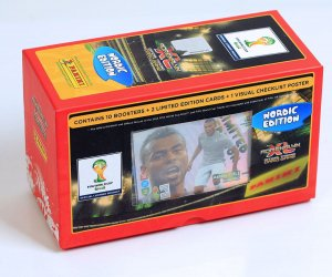 GIFT BOX 80 karty 2 limited -  FIFA BRASIL WORLD CUP 2014