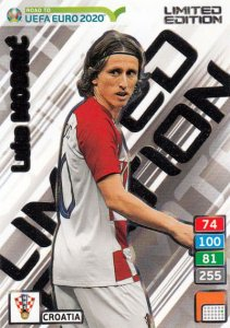 MODRIC XXL Limited  -  ROAD to EURO 2020
