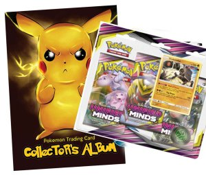 ALBUM + BLISTER 3 x booster - POKEMON 11 UNIFIED MINDS