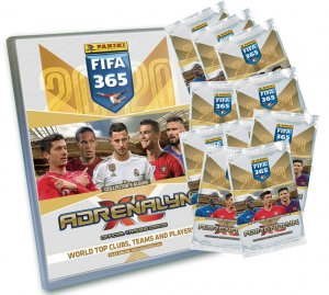 FIFA 2020  ALBUM + 10 x booster packs + limited