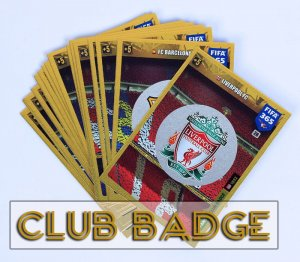 18 kart komplet CLUB BADGE  wybór kart FIFA 365 2020