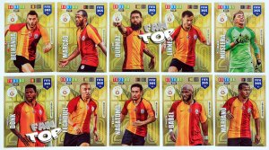 10 kart GALATASARAY zestaw Limited Edition FIFA 365 2020