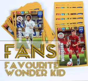 51 kart SET - FANS Favourite Wonder Kid - FIFA 365 2020