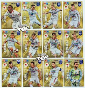 12 x DEBERECENI VSC Limited Edition FULL SET -  FIFA 365 2020