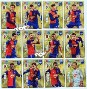 12 x MOL VIDI FC Limited Edition FULL SET -  FIFA 365 2020