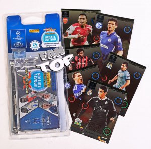 Blister 4 +1 Limited UPDATE Champions League 2015