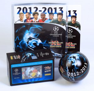ALBUM Puszka kula GIFT BOX -  CHAMPIONS LEAGUE 2012-2013