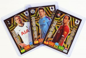 GOLDEN BALLER cards - PREMIER LEAGUE 2019 - 2020