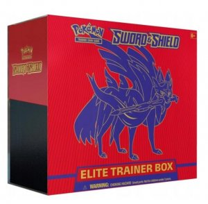 POKEMON Sword Shield Elite Trainer Box Zacian