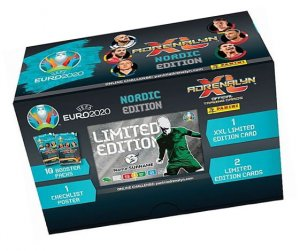 GIFT BOX 60 kart 2  limited  - EURO 2020