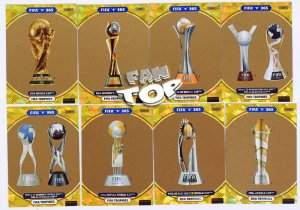 8 cards full set FIFA Trophies - FIFA 2021
