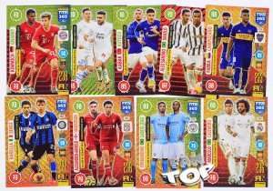 9 cards set  CLUB & COUNTRY  - FIFA 2021