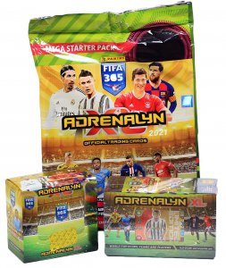 3 saled products STARTER + GIFT BOX + 50 BOX - FIFA 2021