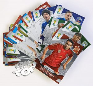 PRIZM World Cup 2014 Brasil - Base cards select