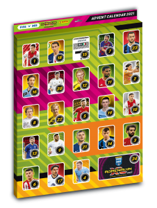 ADVENT CALENDAR - kalendarz adwentowy 8 new limited FIFA 365 2021