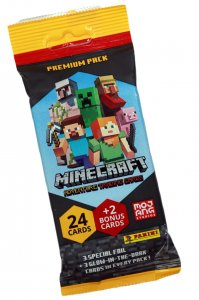 PREMIUM saszetka FAT PACK - 26  karty - MINECRAFT
