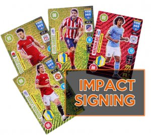 32 karty komplet IMPACT SIGNING   -  UPDATE Fifa 365 2021