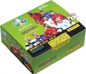 2021 KICK OFF -  BOX 24 saszetki  192 karty - UEFA EURO 2020