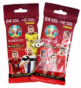 2021 KICK OFF - FAT PACK 26 kart  saszetka - UEFA EURO 2020