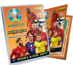 ALBUM + Plansza do gry -  2021 KICK OFF- UEFA EURO 2020