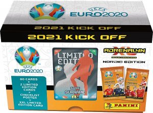GIFT BOX  + 80 kart + Limited 2021 KICK OFF  EURO