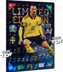 2021 ZLATAN Ibrahimovic Rare Promo LIMITED -  KICK OFF