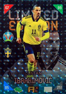 2021 ZLATAN Ibrahimovic  XXL LIMITED -  KICK OFF EURO