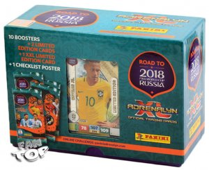 GIFT BOX pudełko - NEYMAR Limited - ROAD TO WORLD CUP 2018