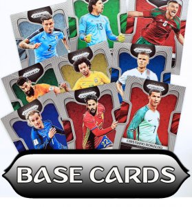 1 - 145 BASE CARDS  - wybór kart - PRIZM World Cup 2018