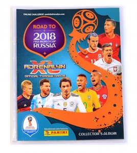 2018  ROAD TO WORLD CUP  - ALBUM + plakat