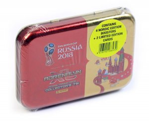 PUSZKA folia 4 + 2 Limited SCHMEICHEL + LINDELOF  - WORLD CUP Russia 2018  Nordic Edition