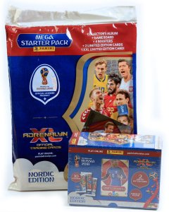 2 produkty GIFT BOX + Starter Pack - WORLD CUP Russia 2018  Nordic Edition