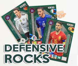 DEFENSIVE ROCK  wybór kart - ROAD to WORLD CUP Russia 2018