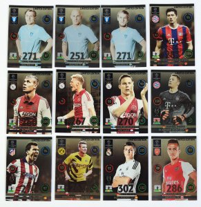 11 kart zestaw Limited Edition  Champions League 2014-2015 panini