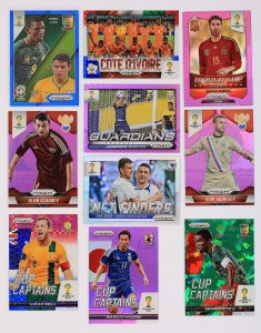 PRIZM - RARE cards Limited BLUE RED PURPLE GREEN World Cup 2014
